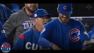Cubs close out the 9th inning in game 5 NLDS - Highlights vs the Nationals