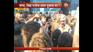 Ground Report On Ratnagiri Dadar Passenger Halted By Passenger For Two Hours As No Seat For Passenge