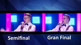 Mikolas Josef - Lie To Me - Czech Republic - LIVE - Grand Final -semifinal - Eurovision 2018