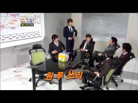 [JTBC] 신화방송 (神話, SHINHWA TV) 33회 명장면 - '신화방송' 예능 실적 공개!