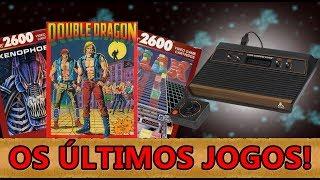 Os Últimos Jogos do Atari 2600!