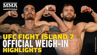UFC Fight Island 7 Weigh-In Highlights - MMA Fighting