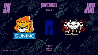 SN vs JDG | Quarterfinal Game 1 | World Championship | Suning vs. JD Gaming (2020)
