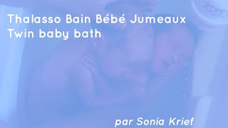 Twin Baby Bath