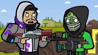 Mezmer & Pressure Plant   The Squad (Fortnite Animation)