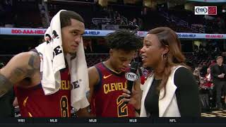 Jordan Clarkson praises Collin Sexton as the Cavs rookie sets a Cavs record