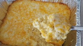 Macaroni and Cheese Recipe Baked Mac & Cheese SUPER CREAMY CHEESY Thanksgiving
