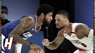 LA Clippers vs Portland Trail Blazers - Full Game Highlights | August 8, 2020 | 2019-20 NBA Season