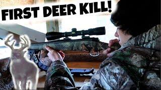 JULIUS FIRST DEER KILL! ALL ON VIDEO + Poachers?