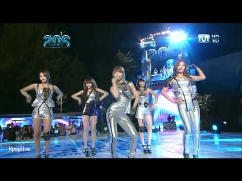 4minute - Hyuna Solo Dance + Hot Issue + HuH (Aug, 26, 10)
