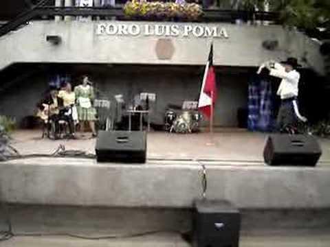 Folklore Chileno en Panamericano 2007 - Honor a la Bandera