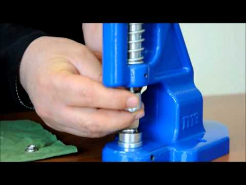 Micron TEP-1 Grommet Attaching machine Ring Snap Installation
