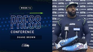 Tackle Duane Brown Week 14 Press Conference | Seahawks 2019