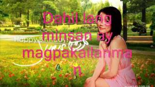 Minsan Lang Kita Iibigin - Juris (HQ)  With Lyrics