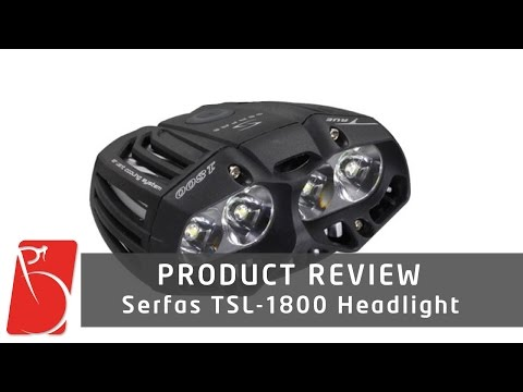 Serfas TSL-1800 Headlight