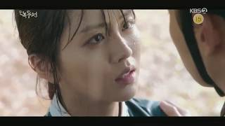 Kiss Scene  - The Tale of Nokdu Episode 20 - (Kim So Hyun & Jang Dong Yoon)