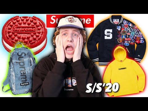 WOOAAH! THIS SUPREME SEASON IS... (Lookbook Reaction!)