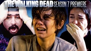 "Fans React To The Walking Dead Season 7 Premiere: ""The Day Will Come When You Won't Be"""