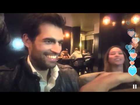 Alex Khan & his reaction to Glasses Free 3D Hologram Periscope #SummitLive San Fran