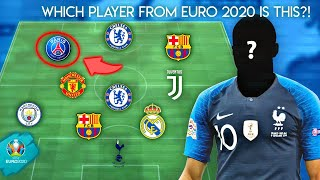 WHICH PLAYER FROM EURO 2020 IS THIS?!  |Impossible Football Quiz 2019