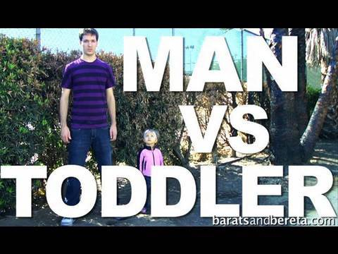 Man vs Toddler