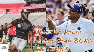 Longhorns Hire Jay Valai & Andre Coleman to the Coaching Staff! What I'm Excited/Concerned About!