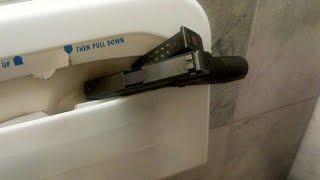 Gun found in Capitol toilet stall