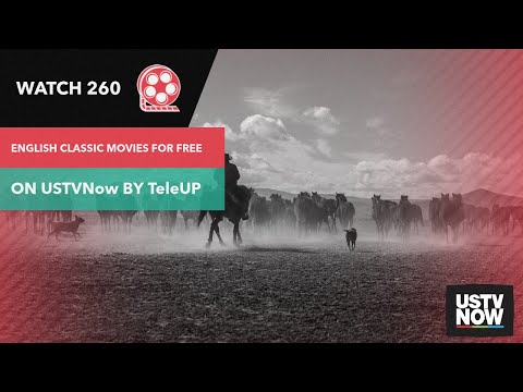 Watch 260 English Classic Movies for Free on USTVnow by TeleUP