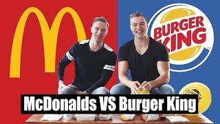 McDONALDS VS BURGER KING | Taste test!