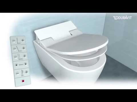 Duravit SensoWash Slim Shower Toilet Seat