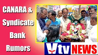 KGF VTV NEWS-DK Shiva Kumar - KPCC President- Canara Bank & Syndicate Bank Merged- Rathotsava