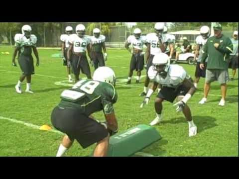 One on One Tackle- LB's vs RB's