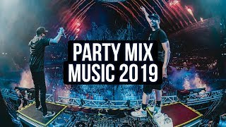 Party Music Mix 2019 - Best Remixes Of Electro House EDM Music