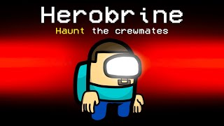 HEROBRINE Imposter Role in Among Us
