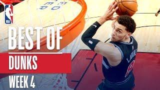 NBA's Best Dunks   Week 4