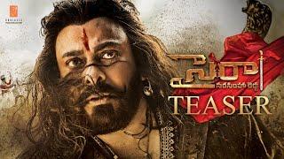 Sye Raa Narsimha Reddy teaser- Chiranjeevi- Pawan Kalyan V..