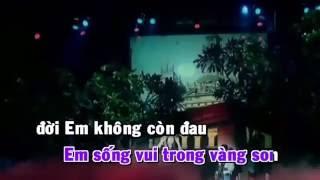 KARAOKE-Cầu Mong Em Hanh Phúc-LÂM HÙNG