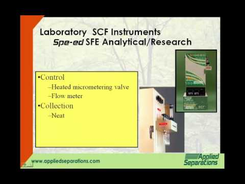 Applied Separations' Laboratory Supercritial Fluid Systems