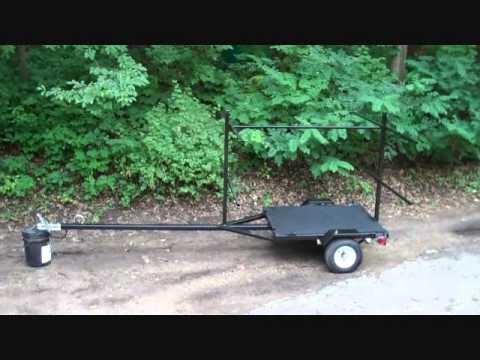 Canoe yact this easy diy kayak cart for Harbor freight fishing cart
