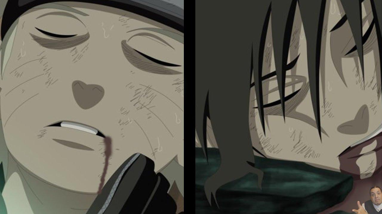 Naruto 662 Manga Chapter ナルト Review -- Naruto & Sasuke Die ...