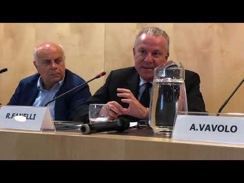Roberto Fanelli (AdM) al convegno di As.Tro e Cgia Mestre