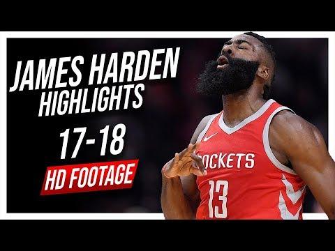Rockets SG James Harden 2017-2018 Season Highlights ᴴᴰ