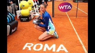 2019 Rome | Karolina Pliskova's Top 5 Shots