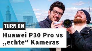 Huawei P30 Pro vs Sony RX100 VI und Canon Eos R