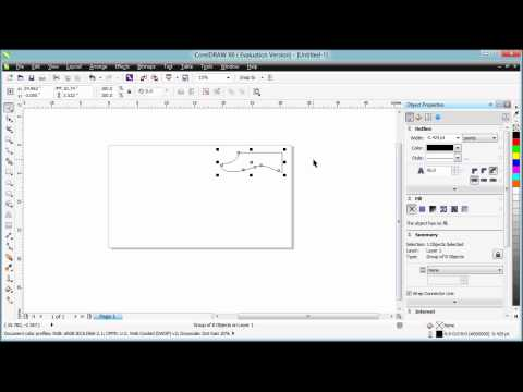 Going from SolidWorks to Universal Laser System via Corel Draw
