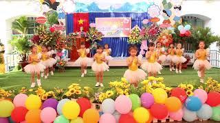 [Kid dancing] [Múa] Món quà tặng cô - Trường mầm non Thái Chánh