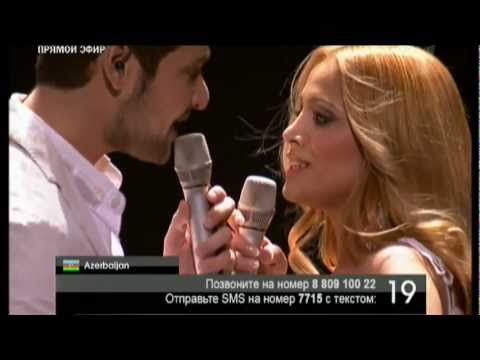 Eurovision 2011 Final - Azerbaijan- Ell & Nikki - Running Scared