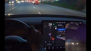 Tesla - New Blindspot Warning Chime Working