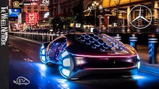 Mercedes-Benz Vision AVTR Driving at the Las Vegas Strip