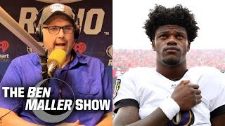 Ben Maller -  Lamar Jackson Can't be a 'Dual-Threat' Quarterback if he Can't Throw